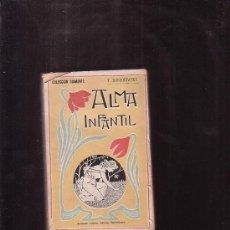 Libros antiguos: ALMA INFANTIL / T. DOSTOIEWSKY - COLECCION DIAMANTE , AÑOS 1900. Lote 39122428