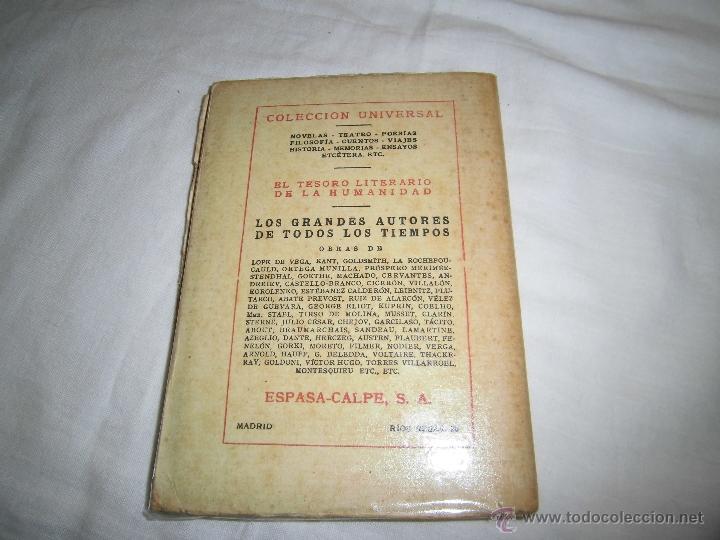 Libros antiguos: EL ENFERMO DE APRENSION MOLIERE COLECCION UNIVERSAL Nº 607-608 ESPASA CALPE 1936 - Foto 5 - 39374750