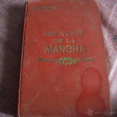 Old books - DON QUIJOTE DE LA MANCHA-EDITORIAL SOPENA 1905 - 39802070