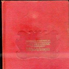 Libros antiguos: CARLOS DICKENS : EL HIJO DE LA PARROQUIA (SOPENA, C. 1935). Lote 39970365