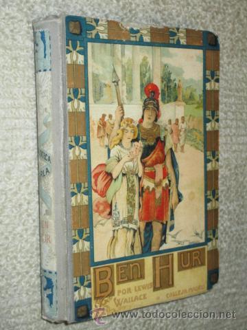 BEN-HUR, DE LEWIS WALLACE, CALLEJA, BIBLIOTECA PERLA Nº 29, CUBIERTA DE BARTOLOZZI, CIRCA 1920 (Libros antiguos (hasta 1936), raros y curiosos - Literatura - Narrativa - Clásicos)