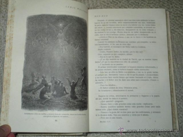 Libros antiguos: Ben-Hur, de Lewis Wallace, Calleja, Biblioteca Perla nº 29, Cubierta de Bartolozzi, circa 1920 - Foto 3 - 40301985