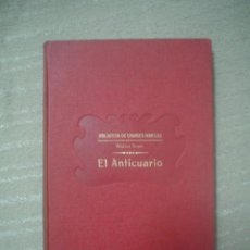 Libros antiguos: WALTER SCOTT: EL ANTICUARIO. Lote 40641535