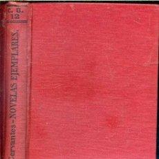 Libros antiguos: CERVANTES : NOVELAS EJEMPLARES (CALPE, 1921). Lote 40659227