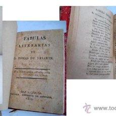 Libros antiguos: FÁBULAS LITERARIAS. YRIARTE, TOMÁS. 1812. Lote 40794046