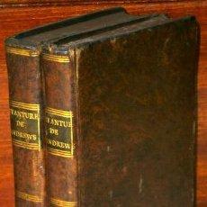 Libros antiguos: AVANTURES DE JOSEPH ANDREWS ET DE SON AMI ABRAHAM ADAMS 2T PAR HENRY FIELDING EN 1775. Lote 77589069