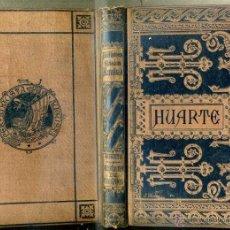 Libros antiguos: HUARTE : EXAMEN DE INGENIOS PARA LAS CIENCIAS (BIBL. CLÁSICA ESPAÑOLA, CORTEZO. 1884). Lote 40924705