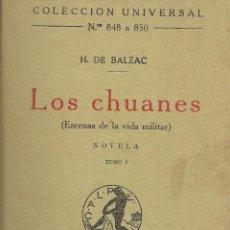 Libros antiguos: LOS CHUANES. Lote 40935322