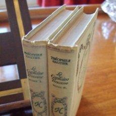 Libros antiguos: THÈOPHILE GAUTIER. LE CAPITAINE FRACASSE. 1936. Lote 41006809
