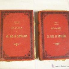 Old books - HISTORIA DE GIL BLAS DE SANTILLANA LESAGE - 42368722