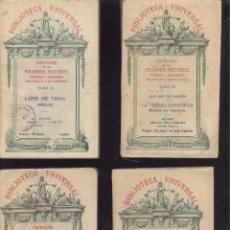 Libros antiguos: BIBLIOTECA UNIVERSAL. AUTORES ESPAÑOLES Y EXTRANJEROS. FINES SIGLO XIX. DISTINTOS NÚMEROS. VER LISTA. Lote 42433729
