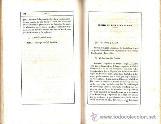 Libros antiguos: ZORRILLA – GRANADA – POEMA ORIENTAL – AÑO 1846 - Foto 3 - 42519643
