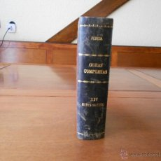 Libros antiguos: NUBES DE ESTÍO (JOSÉ M. DE PEREDA) OBRAS COMPLETAS XIV MADRID 1904. Lote 42802278