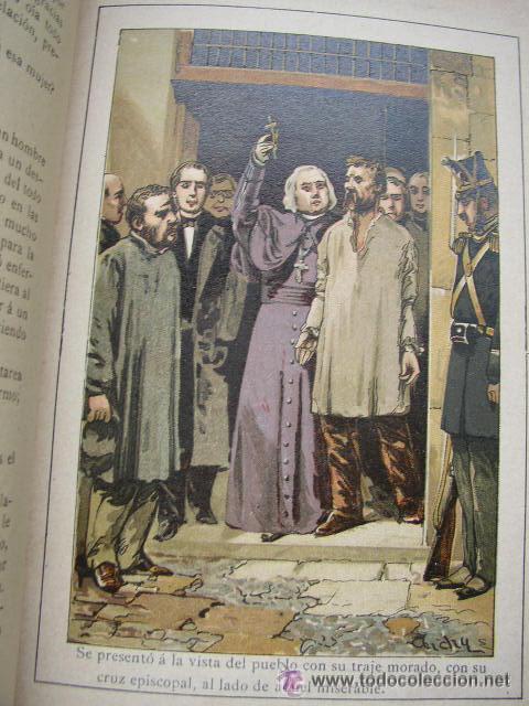 Libros antiguos: LOS MISERABLES-OBRAS COMPLETAS DE VÍCTOR HUGO- 4 VOLUMENES CON 8 TOMOS ILUSTRADOS-1903/1904/1905 - Foto 4 - 42880429