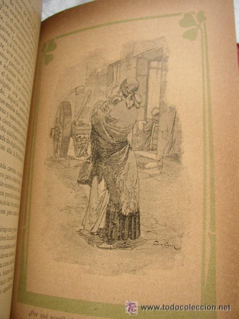 Libros antiguos: LOS MISERABLES-OBRAS COMPLETAS DE VÍCTOR HUGO- 4 VOLUMENES CON 8 TOMOS ILUSTRADOS-1903/1904/1905 - Foto 5 - 42880429