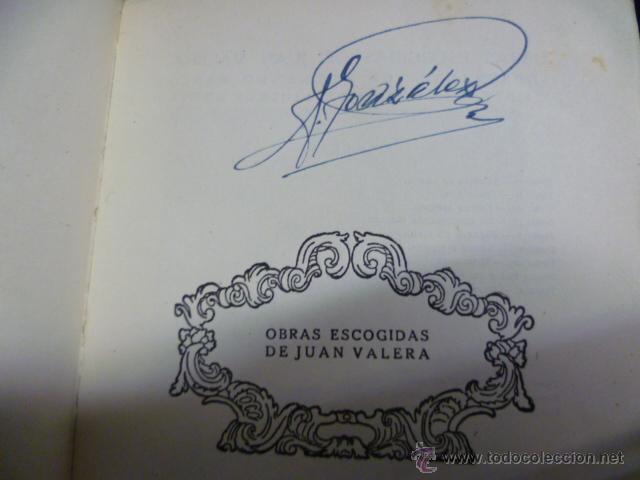Libros antiguos: Jvanita la Larga, por Juan Valera Obras Escogidas - 1934 - Foto 2 - 42888267