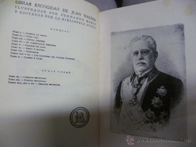 Libros antiguos: Jvanita la Larga, por Juan Valera Obras Escogidas - 1934 - Foto 3 - 42888267
