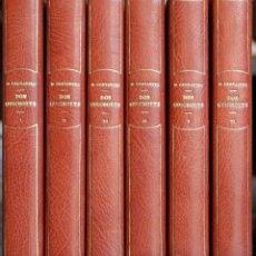 Libros antiguos: CERVANTES. HISTOIRE DE DON QUICHOTTE DE LA MANCHE. DESSINS DE J. WORMS, GRAVÉS PAR DE LOS RÍOS.. Lote 42915825