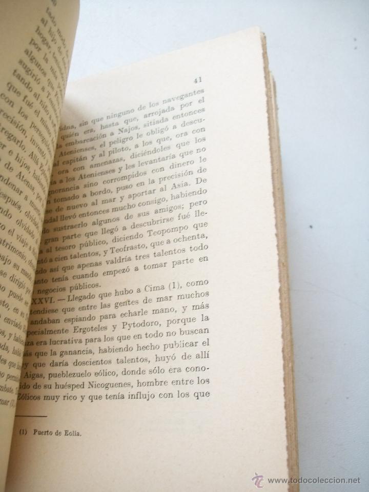 Libros antiguos: VIDAS PARALELAS, TOMO II. TEMÍSTOCLES, CAMILO, PERICLES, FABIO MÁXIMO-1936- MADRID.-PLUTARCO- - Foto 2 - 43152711