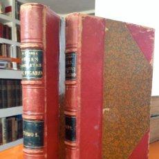 Libros antiguos: AÑO 1874.- OBRAS COMPLETAS DE FIGARO. MARIANO JOSE DE LARRA. PRECIOSA ENCUADERNACIÓN.. Lote 43161714