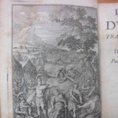 Libros antiguos: L´ILIADE DE HOMERO,( TOMOS I-II ), OBRA COMPLETA.1711, HOMERO. CONTIENEN 1 FRONTISPICIO Y 13 GRABADO. Lote 43324586