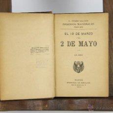 Libros antiguos: 4586- EPISODIOS NACIONALES. B. PEREZ GALDOS. EDIT. S. DE BERNARDO 1916/1920.. Lote 43356223