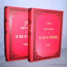 Libros antiguos: HISTORIA DE GIL BLAS DE SANTILLANA - LESAGE - AÑO 1890 - BELLAS VIÑETAS Y LAMINAS.. Lote 43407313