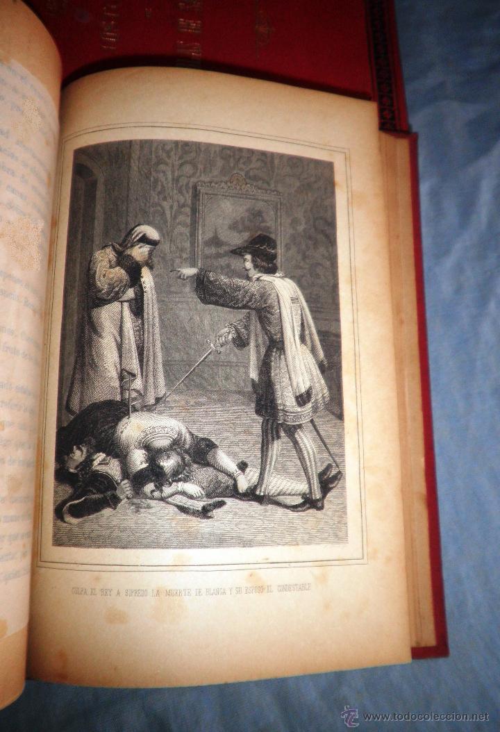 Libros antiguos: HISTORIA DE GIL BLAS DE SANTILLANA - LESAGE - AÑO 1890 - BELLAS VIÑETAS Y LAMINAS. - Foto 6 - 43407313