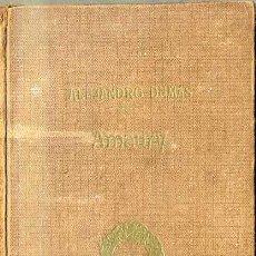Libros antiguos: DUMAS : AMAURY (TASSO, C. 1920) . Lote 43567475