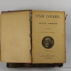 Libros antiguos: 4717- OBRAS COMPLETAS DE JULIO VERNE. EDIT. SAENZ DE JUBERA. S/F. 5 TOMOS. . Lote 165487530