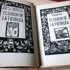 Libros antiguos: AGUILAR EDITORIAL - PEREDA / 3 OBRAS / EL SABOR DE LA TIERRUCA / LA PUCHERA / LA MONTÁLVEZ - AGUILAR. Lote 44029633