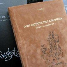 Libros antiguos: QUIJOTE - MINGOTE - DOS TOMOS - EDICION LUJO - BIBLIOFILIA - COLECCIONISMO. Lote 44057572