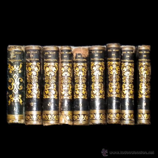 PCBROS - AVENTURAS DE GIL BLAS DE SANTILLANA - LE SAGE - RIGNOUX PARÍS - 1826 (Libros antiguos (hasta 1936), raros y curiosos - Literatura - Narrativa - Clásicos)