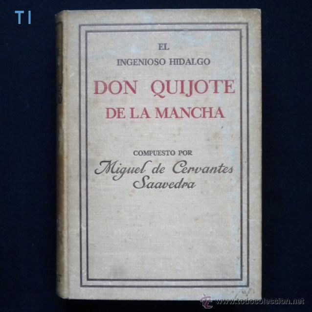 Libros antiguos: PCBROS - DON QUIJOTE DE LA MANCHA - ILUSTR. DANIEL URRABIETA VIERGE - SALVAT EDITORES - 1930 - Foto 3 - 44657248