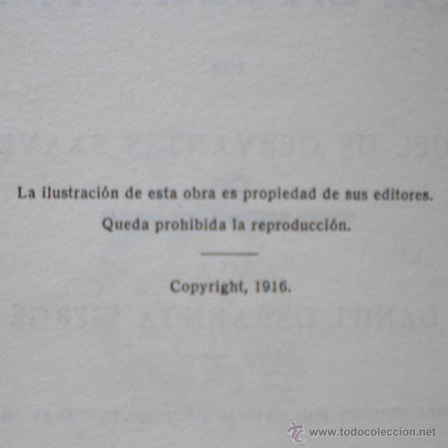 Libros antiguos: PCBROS - DON QUIJOTE DE LA MANCHA - ILUSTR. DANIEL URRABIETA VIERGE - SALVAT EDITORES - 1930 - Foto 6 - 44657248