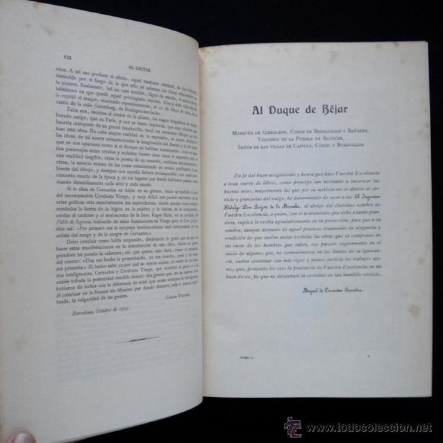 Libros antiguos: PCBROS - DON QUIJOTE DE LA MANCHA - ILUSTR. DANIEL URRABIETA VIERGE - SALVAT EDITORES - 1930 - Foto 8 - 44657248