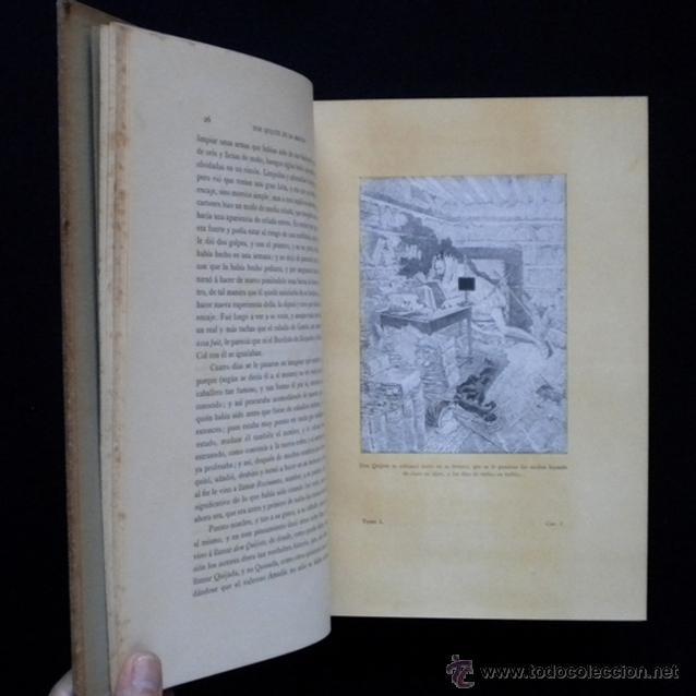 Libros antiguos: PCBROS - DON QUIJOTE DE LA MANCHA - ILUSTR. DANIEL URRABIETA VIERGE - SALVAT EDITORES - 1930 - Foto 10 - 44657248