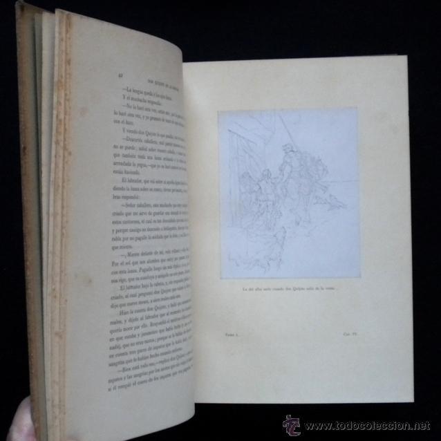 Libros antiguos: PCBROS - DON QUIJOTE DE LA MANCHA - ILUSTR. DANIEL URRABIETA VIERGE - SALVAT EDITORES - 1930 - Foto 11 - 44657248