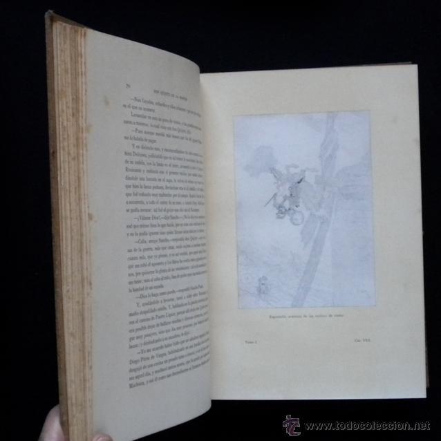 Libros antiguos: PCBROS - DON QUIJOTE DE LA MANCHA - ILUSTR. DANIEL URRABIETA VIERGE - SALVAT EDITORES - 1930 - Foto 12 - 44657248