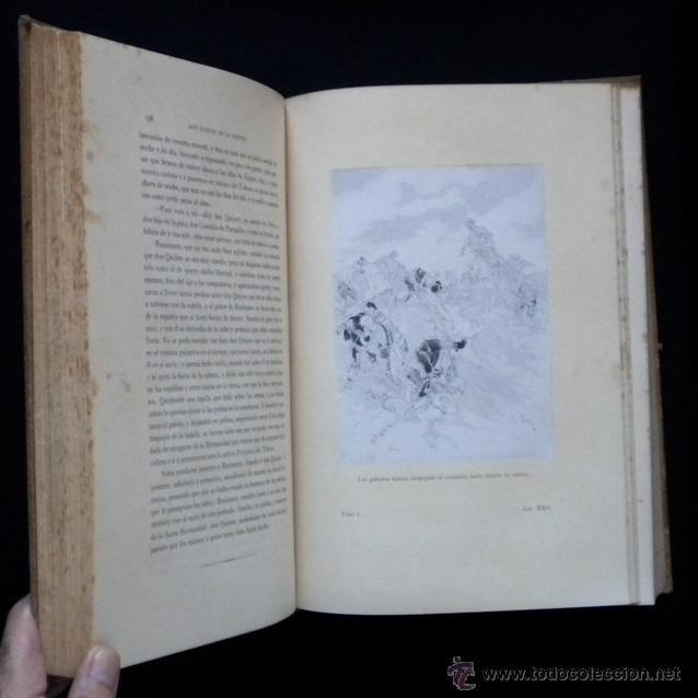 Libros antiguos: PCBROS - DON QUIJOTE DE LA MANCHA - ILUSTR. DANIEL URRABIETA VIERGE - SALVAT EDITORES - 1930 - Foto 13 - 44657248