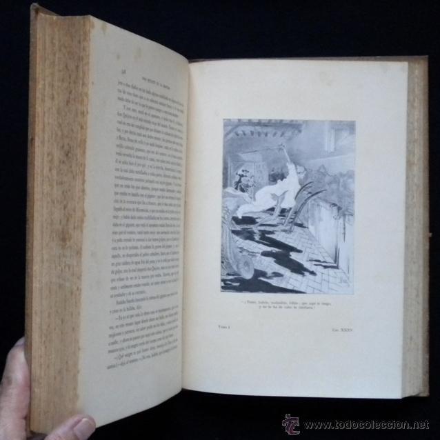 Libros antiguos: PCBROS - DON QUIJOTE DE LA MANCHA - ILUSTR. DANIEL URRABIETA VIERGE - SALVAT EDITORES - 1930 - Foto 14 - 44657248