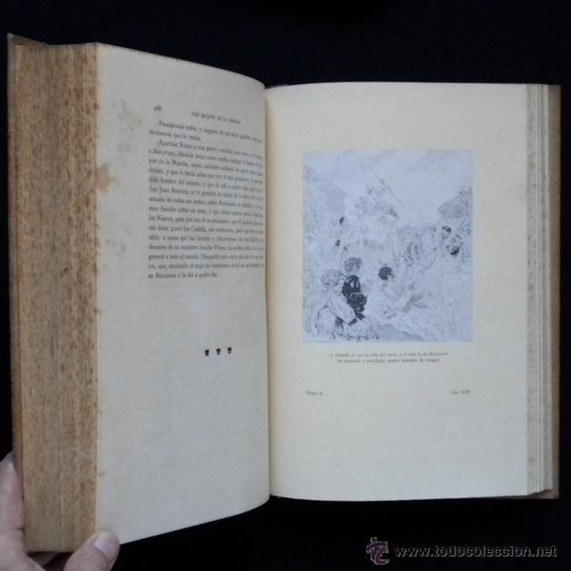 Libros antiguos: PCBROS - DON QUIJOTE DE LA MANCHA - ILUSTR. DANIEL URRABIETA VIERGE - SALVAT EDITORES - 1930 - Foto 29 - 44657248