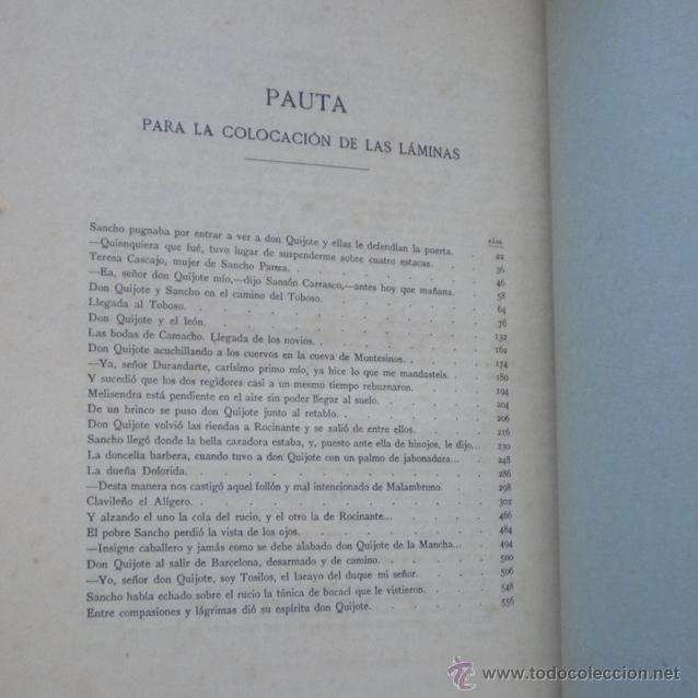 Libros antiguos: PCBROS - DON QUIJOTE DE LA MANCHA - ILUSTR. DANIEL URRABIETA VIERGE - SALVAT EDITORES - 1930 - Foto 31 - 44657248