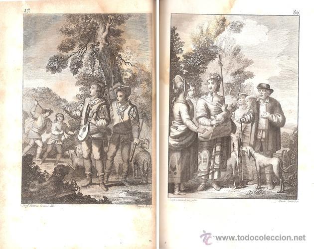 Libros antiguos: CERVANTES – LOS SEIS LIBROS DE GALATEA – Año 1784 - Foto 5 - 44777764
