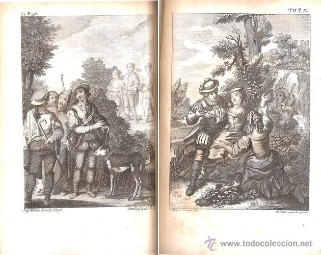 Libros antiguos: CERVANTES – LOS SEIS LIBROS DE GALATEA – Año 1784 - Foto 6 - 44777764