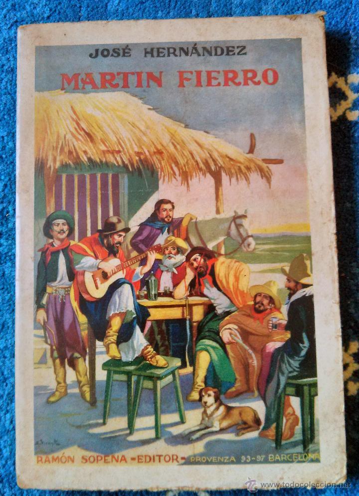 MARTIN FIERRO - RAMON SOPENA EDITOR 1935 (Libros antiguos (hasta 1936), raros y curiosos - Literatura - Narrativa - Clásicos)