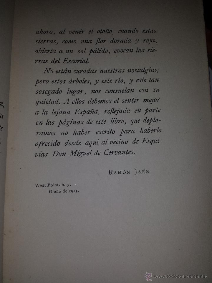 Libros antiguos: EL CAMINO DE DON QUIJOTE POR TIERRAS DE LA MANCHA-AUGUST F. JACCACI-AÑO 1915. - Foto 6 - 46023362