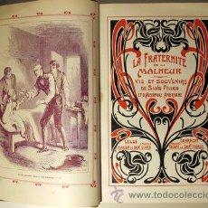 Libros antiguos: PELLICO, SILVIO - LA FRATERNITÉ DU MALHEUR. VIE ET SOUVENIRS DE SILVIO PELLICO ET D'A. ANDRYANE. Lote 46400992