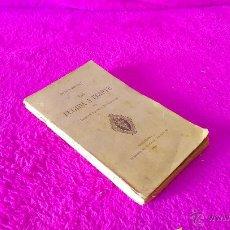 Libros antiguos: JESUS INFANT, LA FUGIDA A EGIPTE, MOSSEN JACINTO VERDAGUER 1893, FIRMAT I AMB GRAN DEDICATORIA. Lote 46545961