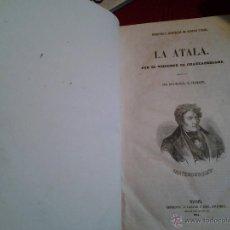 Libros antiguos: BIBLIOTECA ILUSTRADA DE GASPAR Y ROIG.TRES OBRAS ENCUADERNADAS EN UN VOLUMEN.1854. Lote 46643182